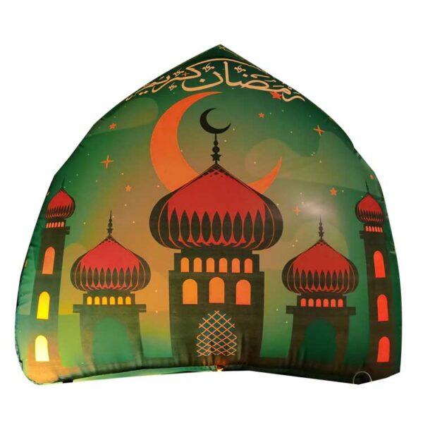 R006 Inflatable Ramadan Mosque Decoration