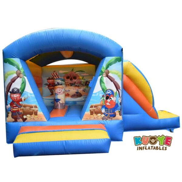CB0107 Indoor Small Pirate Bouncy Castle With Slide