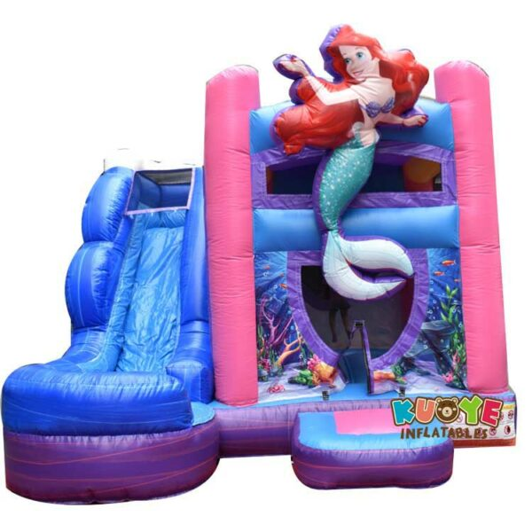 CB0108  Mermaid Water Bounce House with Slide