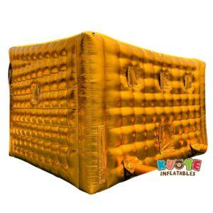 TT020 Gold Inflatable Nightclub Marquee