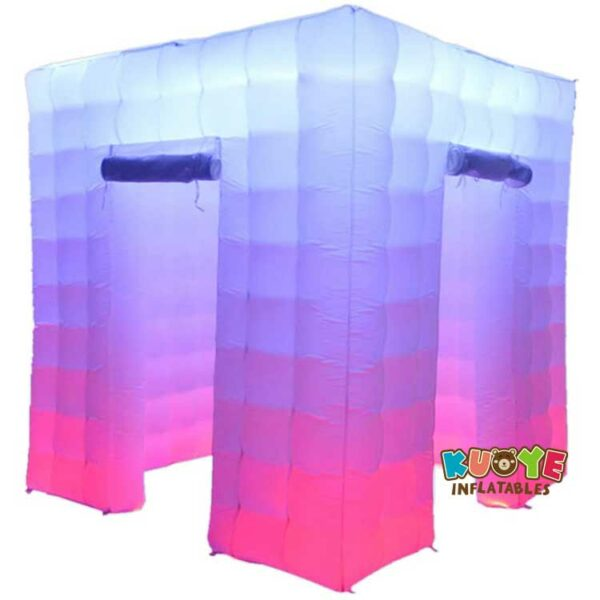 TT023  White Inflatable Cube Tent