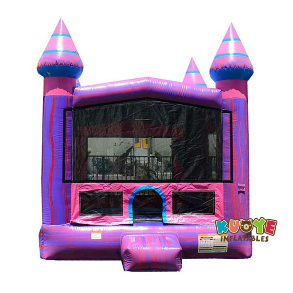 BH131 13′ x 13′  Purple Bounce House with Air Blower