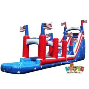 WS100 22FT Slip N Slide American Water Slide