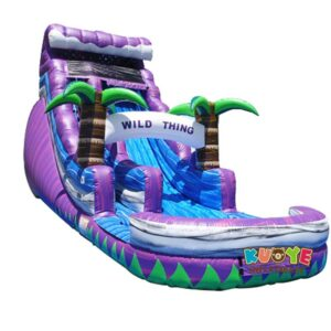 WS101 18FT Wild Purple Water Slide