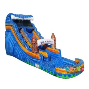 WS103 18FT Blue Crush Water Slide