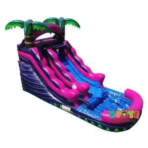 WS104 13FT Pink Purple Water Slide