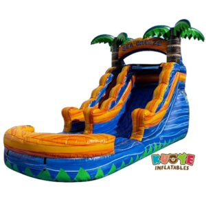 WS105 13FT Blue Yellow Water Slide