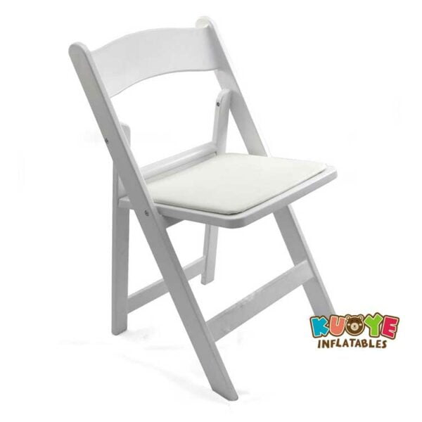 C001 White Resin Folding Chair for Party