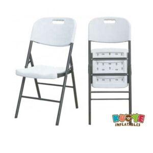 C003 White Folding Chair
