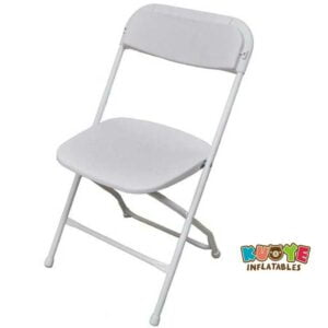 C002 White Folding Chair for Wedding