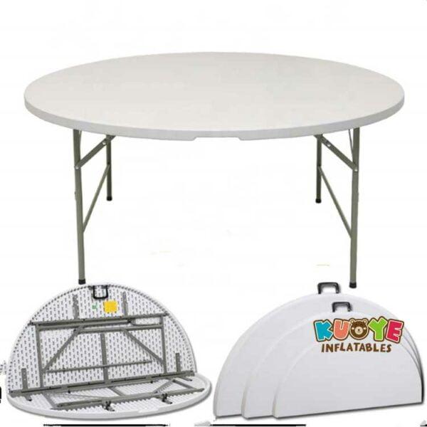 C005 5FT White Round Tables
