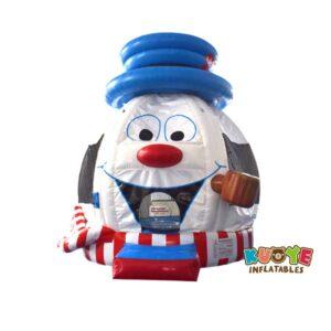 BH140 Snowman Bounce House