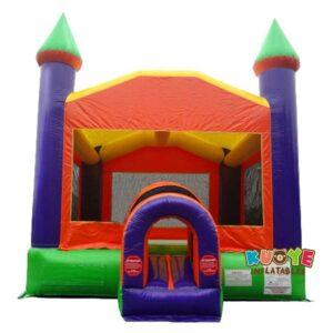 BH148 Orange Castle Inflatable Bounce House