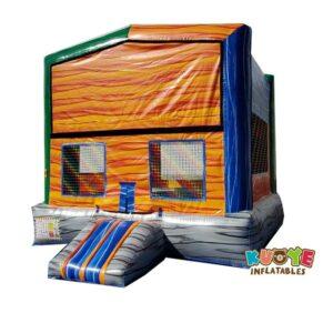 BH151 Orange Marble Bounce House