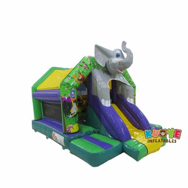 CB114 Elephant Front Slide Bouncer