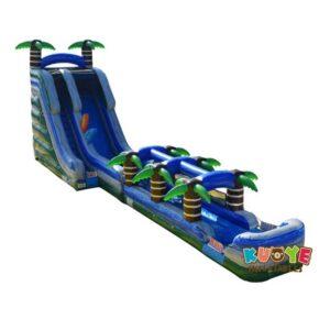 WS114 20ft Xtreme Tropical Water Slide W/Slip N Slide