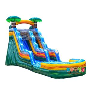 WS120 15ft Palm Tree Slide with Detachable Pool