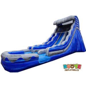 WS122 20 Ocean Wave Inflatable Dual Slide Wet/Dry