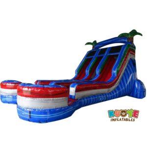 WS126 19ft Baja Splash Double Wet Slide