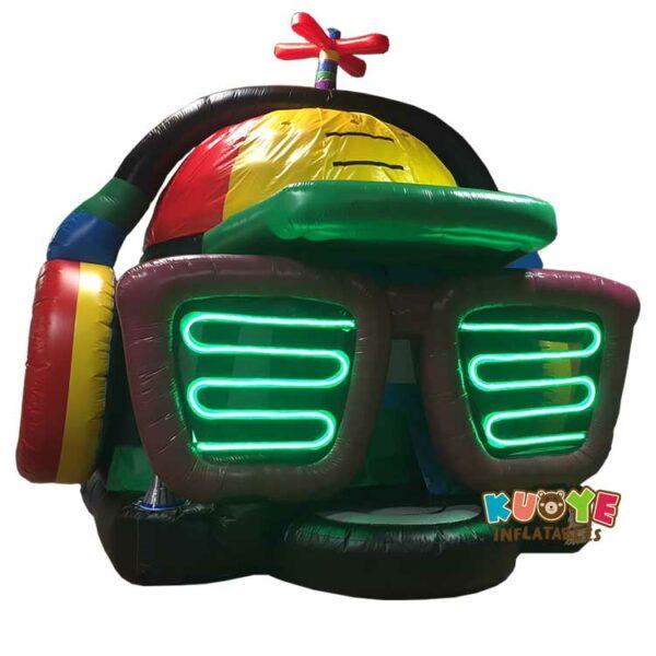 BH135 DJ Dance Party Bounce House