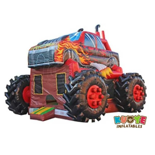 BH137 Inflatable Monster Truck Bouncer