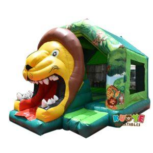 CB183 Lion Bouncy Castle with Slide