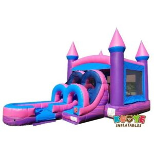 CB161 Princess Power Bounce House And Water Slide