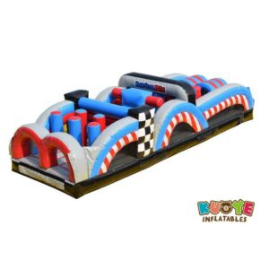 OC011 36ft Racing Fun Obstacle Course
