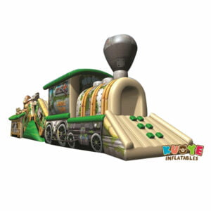 OC1813 Circus Train Obstacle Course