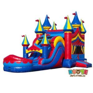 CB179 Carnival Castle Moonwalk with Slide