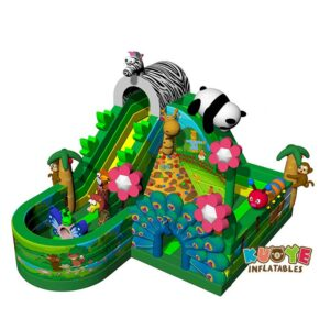 AP1840 Animals Inflatable Bouncer Inflatable Zoo Playland