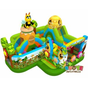 AP1841 Bee Park Inflatable Obstacle Playland