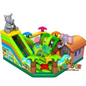 AP1843 Elephant Animal Inflatable Trampoline Playland