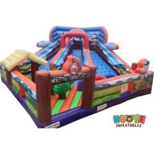 AP1845 Customs Inflatable Trampoline Park